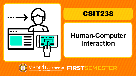 CSIT238 Human-Computer Interaction