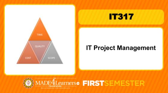 IT317 Project Management for IT