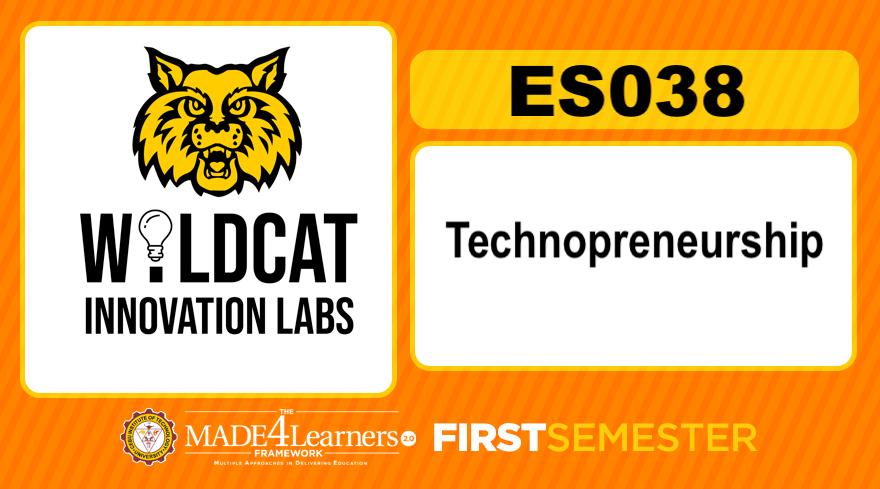 Technopreneurship (First Semester / Cluster 2)