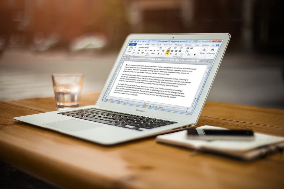 Basic Word Processing: MS Word